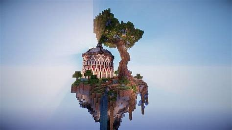 aedis floating temple minecraft building