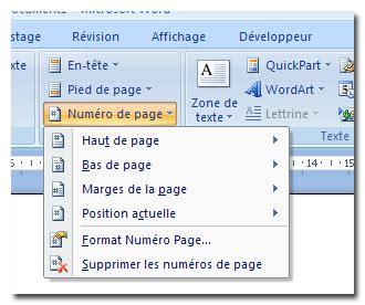 comment utiliser une le stroboscopique comment arreter numerotation pages word