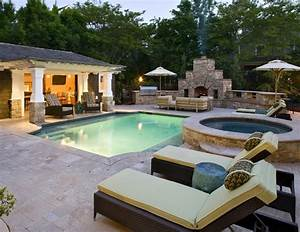 backyard pool designs ideas to perfect your backyard With pool and outdoor kitchen designs