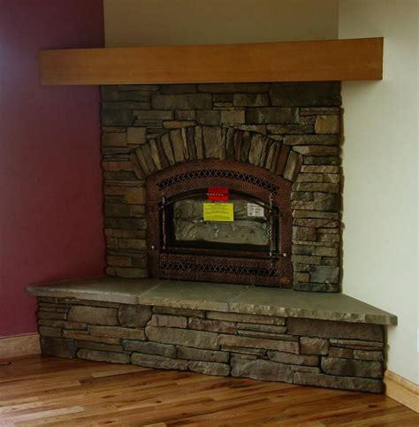 stone fireplace corner google search lake house ideas