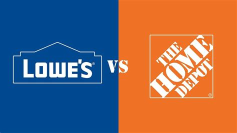 Home Dopt by Lowe S Vs The Home Depot