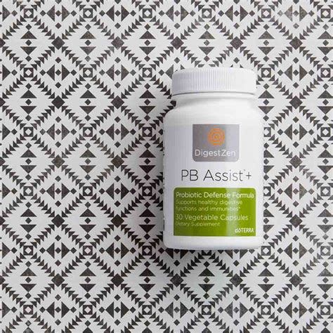 product spotlight pb assist doterra essential oils