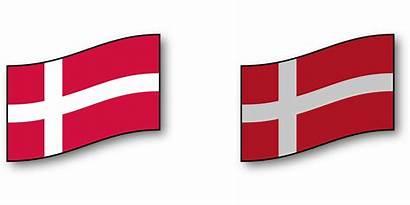 Flag Det Danish Danske Denmark Transparent National