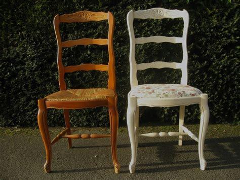 repeindre des chaises comment peindre une chaise en paille