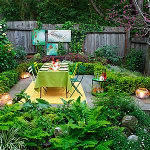 ideas for garden decorations sunset