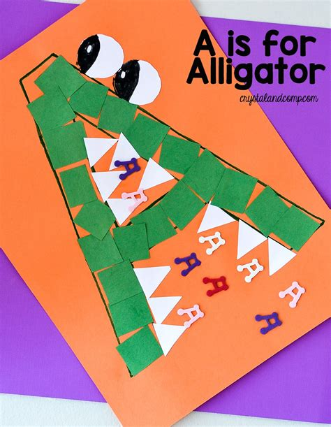 letter of the week a is for alligator 712 | a is for alligator