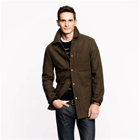 wallace and barnes j crew wallace barnes skiff jacket with thin sulate in