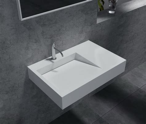 vasque en resine de synthese lavabo vasque suspendu pb2014 74 x 50 x 13cm en r 233 sine de synth 232 se solid le monde de