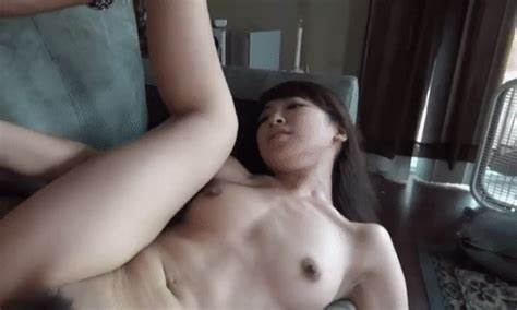 Black Haired Student Excited To Get Into Sex