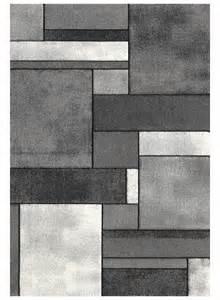 Un Amour De Tapis Grigny by Tapis De Salon Brillance Geometrique Gris De La Collection