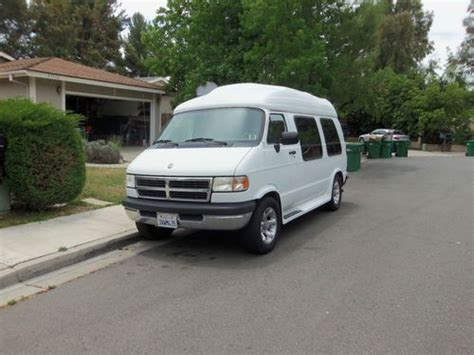 sell used 1992 dodge ram van white normal wear and tear in fountain valley california sell used 1997 dodge conversion van in mission viejo california united states for us 6 995 00