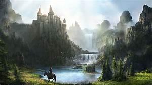 40, Fantasy, Castle, Wallpaper, Hd, On, Wallpapersafari
