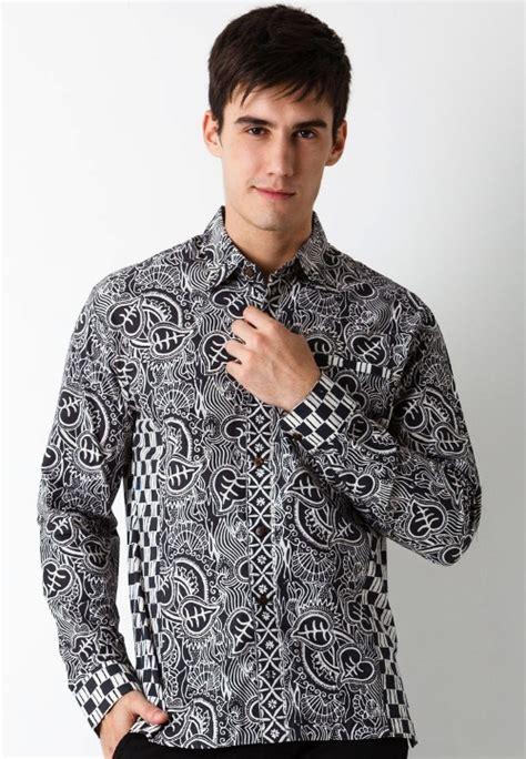 45 kemeja batik laki laki lengan panjang terbaru 2019 keren baju batik unik