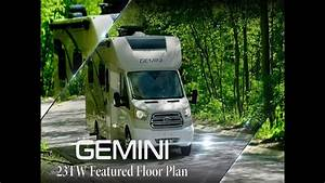 2019 Gemini U00ae 23tw Ruv U2122 Class B  Featured Floor Plan From Thor Motor Coach
