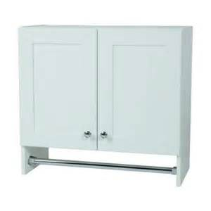 Glacier Bay Kitchen Faucets Glacier Bay 27 In X 25 In X 12 In Laundry Wall Cabinet In Country White Wc2725 Wh The Home