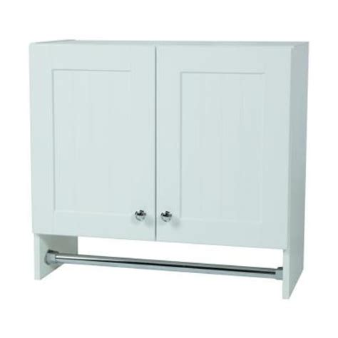 home depot white cabinets glacier bay 27 in x 25 in x 12 in laundry wall cabinet