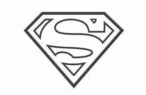 Black And White Superman Logo - ClipArt Best