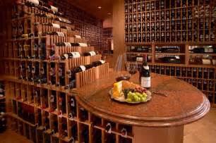 Above Cabinet Wine Rack by Large Wine Cellar Traditional Wine Cellar San Diego