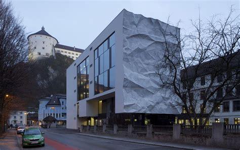 high school crinkled wall wiesflecker architecture