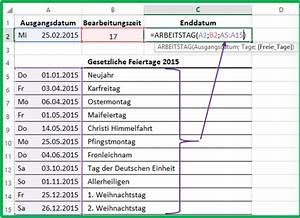Fläche Unter Kurve Berechnen Online : excel datum mit der funktion arbeitstag berechnen ~ Themetempest.com Abrechnung