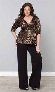 Palazzo Pants for Plus Sizeu201324 Palazzo Outfit Ideas for Curvy Girls