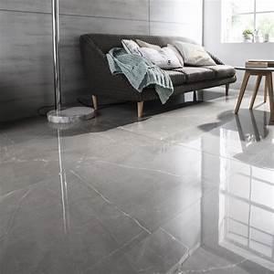 Faire Les Joints De Carrelage : carrelage sol et mur gris effet marbre rimini x ~ Dailycaller-alerts.com Idées de Décoration