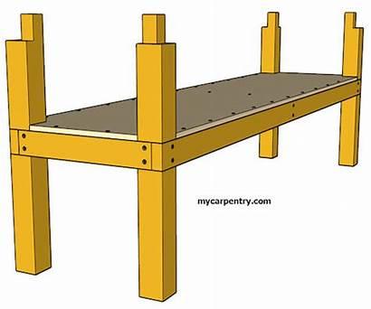Workbench Plans Simple Shelf