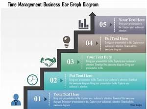 Time Management Business Bar Graph Diagram Powerpoint