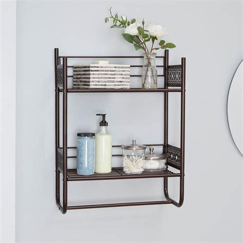 north oaks magnolia bathroom collection wall shelf oil