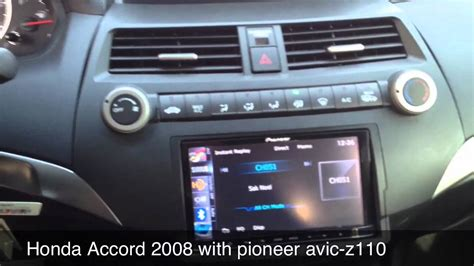 on board diagnostic system 2012 honda accord head up display honda accord 2008 project part 1 youtube