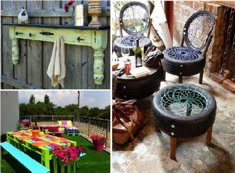 examples  garden furniture    household items
