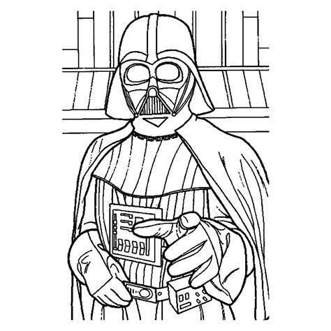 Kleurplaat Vader by Leuk Voor Darth Vader