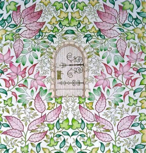 secret garden coloring book johanna basford s secret garden and enchanted forest