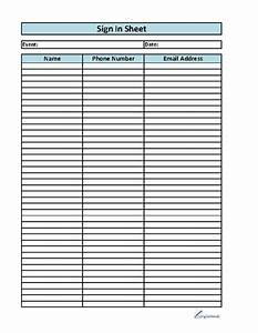 best photos of editable sign up sheet template excel With editable sign in sheet template