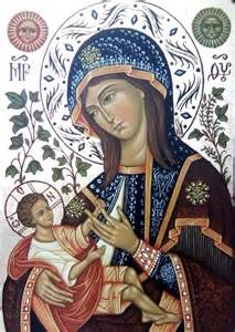 Mary and Christ Child Icon