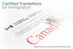 certified translations of immigration documents in toronto With english to spanish document translation services