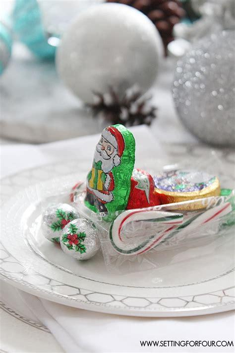edible diy christmas table decorations santas sleigh