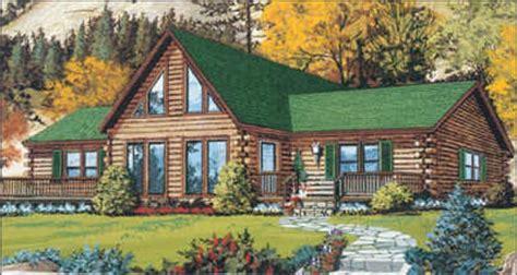 the original log cabin homes blue ridge iii log home plan by original log cabin homes