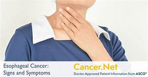 Esophageal Cancer  Symptoms And Signs