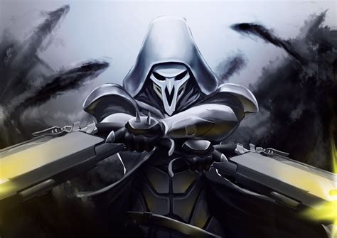 Assassin S Creed Wallpaper 4k Wallpaper Reaper Overwatch Artwork Hd Games 3775
