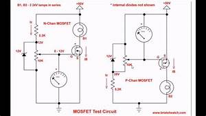 Simple Circuits For Testing Power Mosfet Transistors