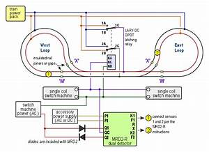 Automatic Reversing Loop Conrol For Dc  Dcc Or Ac Dogbone Layout