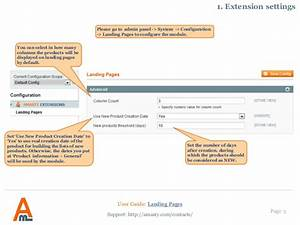 Landing Pages  Magento Extension By Amasty  User Guide