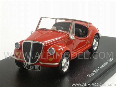 spark-model Fiat 500 Gamine 1967 (Red) (1/43 scale model)