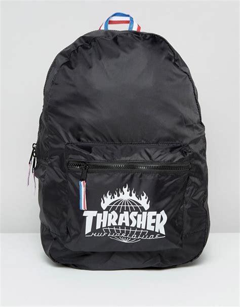 huf  thrasher backpack packable asos