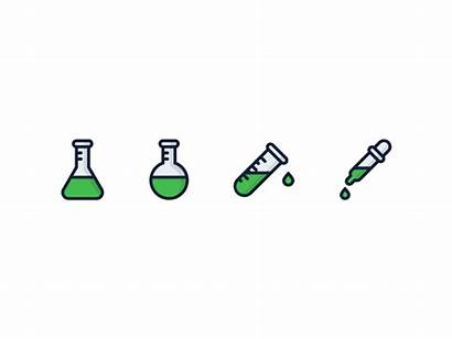 Chemical Icons Icon Dribbble