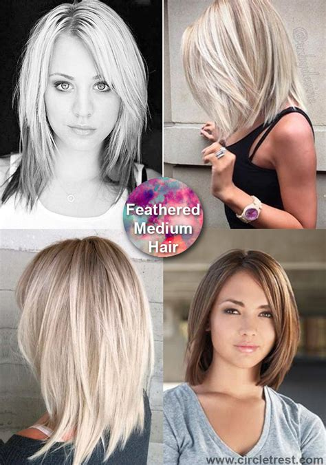 trendy medium hairstyles  women   ages circletrest