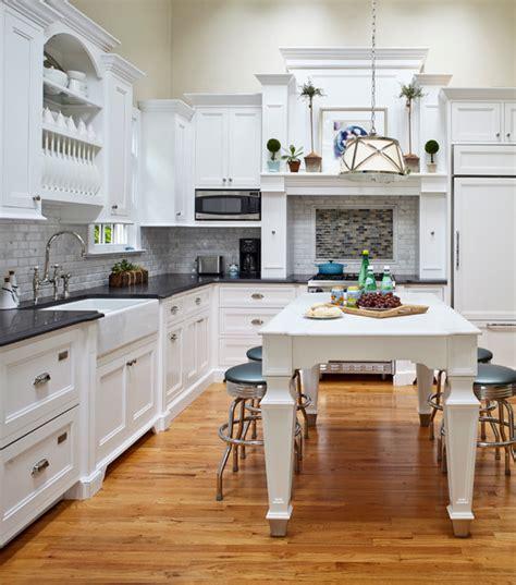 classic cottage beach style kitchen  york