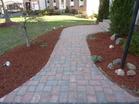paver patios walkways american exteriors masonry