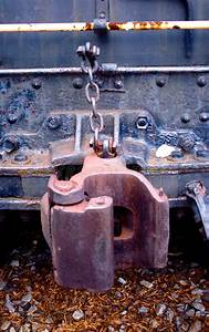 Train Coupler Stock Image  Image Of Detail  Coupler  Railroad